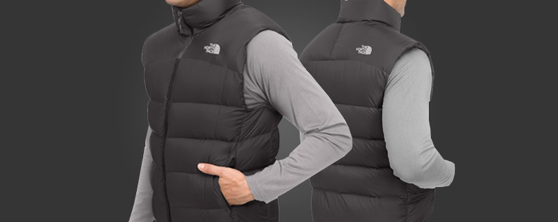 chaleco north face nuptse